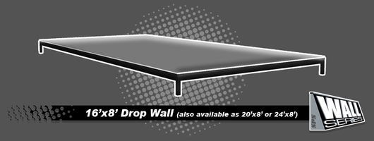 SPS | Snow Park Solutions - Wall Series - 16'x8' Drop Wall