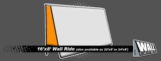 SPS | Snow Park Solutions - Wall Series - 16'x8' Wall Ride