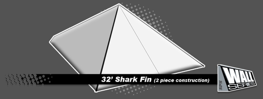 SPS | Snow Park Solutions - Wall Series - 32' Shark Fin